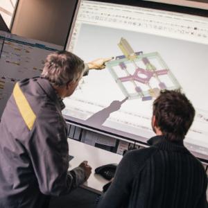 Dessin assisté par ordinateur d'une moule pour sa conception